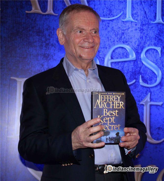 Jeffrey Archer Launches Best Kept Secret Book