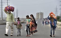 Migrant labours India